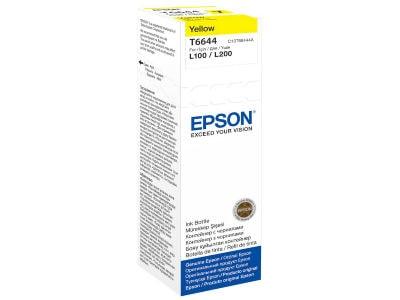 Μελάνι Κίτρινο Epson T6644