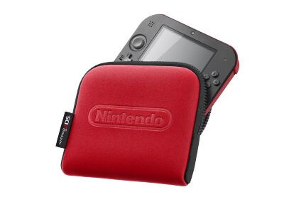 Nintendo 2DS - Pouch - Κόκκινο/Μαύρο