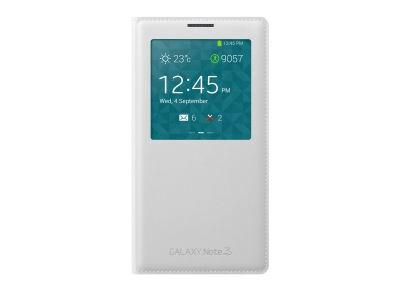 Θήκη Samsung Galaxy Note 3 - Samsung S-View Cover EF-CN900B Λευκό τηλεφωνία   tablets   αξεσουάρ κινητών   θήκες