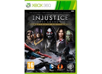 Injustice: Gods Among Us - Ultimate Edition - Xbox 360 Game gaming   παιχνίδια ανά κονσόλα   xbox 360