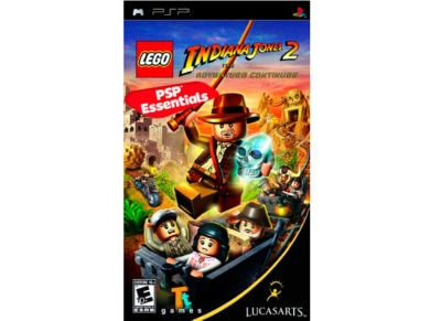 LEGO Indiana Jones 2: The Adventure Continues - Essentials - PSP Game
