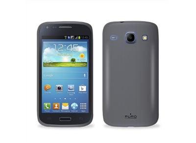 Θήκη Samsung Galaxy Core i8260 - Puro Silicon Case SAMSUNGI8260SBLK Μαύρο