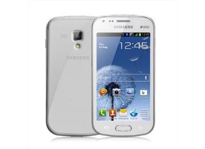 Θήκη Samsung Galaxy S Duos GT - Celly Cover GELSKIN300 Διαφανές
