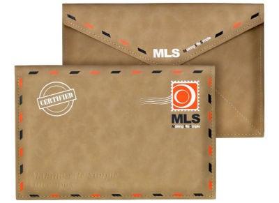 """MLS Booklet - Θήκη Tablet 7-8"""" - Καφέ"""