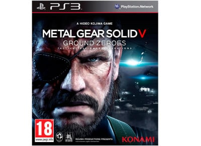Metal Gear Solid V: Ground Zeroes - PS3 Game