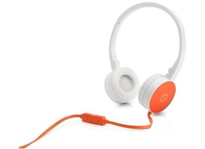 Ακουστικά Κεφαλής HP H2800 Headset Πορτοκαλί