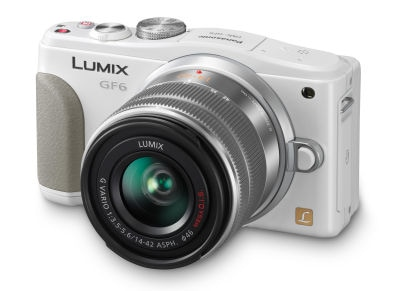 Panasonic Lumix DMC-GF6KEG Kit 14-42mm Λευκό large