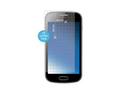 """Μεμβράνη οθόνης Smartphone έως 4.4"""" - Puro Universal Screen Protector - 5 τεμ"""