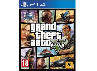 PS4 Used Game: Grand Theft Auto V gaming   used games   ps4 used