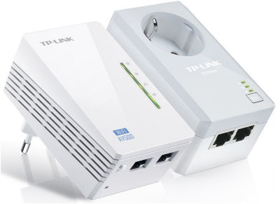TP-Link Powerline AV500 TL-WPA4226KIT - WiFi Extender Kit