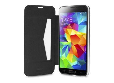 Θήκη Samsung Galaxy S5 Mini - Puro Booklet Wallet SGS5MINIBBCBLK Μαύρο