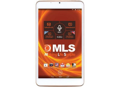 "MLS iQTab Diamond - Tablet 8"" 16GB Λευκό + Car Kit"