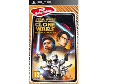 Star Wars The Clone Wars Republic Heroes Essentials - PSP Game