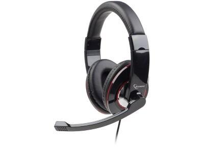 Ακουστικά Κεφαλής Gembird MHS-001 Headset Μαύρο
