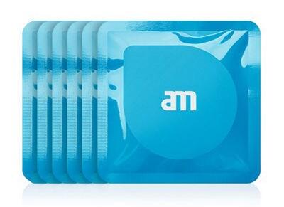 Υγρά μαντηλάκια καθαρισμού οθόνης AM Wipes AM85525 (18 τεμ) Μπλε