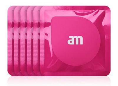Υγρά μαντηλάκια καθαρισμού οθόνης AM Wipes AM85526 (18 τεμ) Ροζ