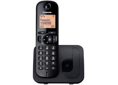 Panasonic KX-TGC210GRB Ασύρματο Τηλέφωνο Μαύρο