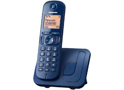 Panasonic KX-TGC210GRC Ασύρματο Τηλέφωνο Μπλε