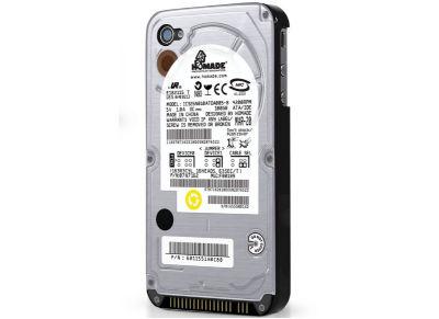 Θήκη iPhone 4/4s - ThumbsUp! Flashbacks Hard Drive Cover IP4HARDRVCOV Γκρι