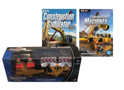 Construction Simulator & Construction Machines 2014 & Toy Model - PC Game