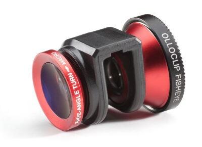Φακός iPhone 4/4s FishEye/Makro Olloclip 3-In-1 lens OC-IPH4-FMW-R