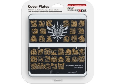 New Nintendo 3DS Coverplate - Monster Hunter 4 Ultimate