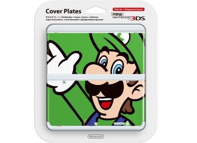 New Nintendo 3DS Coverplate - Luigi