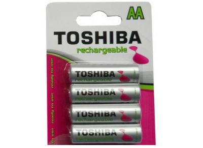 Μπαταρία επαναφορτιζόμενη Toshiba Rechargeable AA 1950mAh BP4