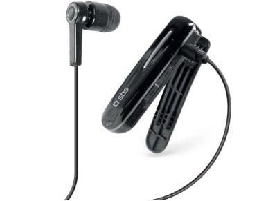 Bluetooth SBS Earset TECLIPHEADSETBTK Μαύρο