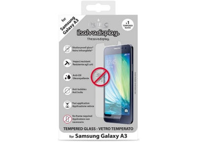 Μεμβράνη οθόνης Samsung Galaxy A3 - Puro Tempered Glass Screen Protector - 1 τεμ