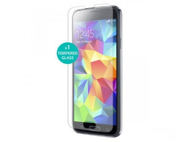 Μεμβράνη οθόνης Samsung Galaxy S5 - Puro Tempered Glass Screen Protector - 1 τεμ