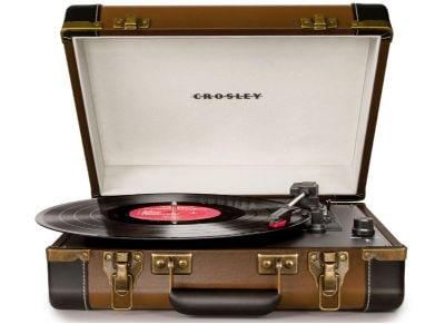 Πικάπ USB Crosley Executive Καφέ