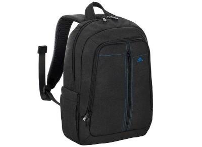 """Τσάντα Laptop Πλάτης 15.6"""" Rivacase 7560 Canvas Backpack Μαύρο"""
