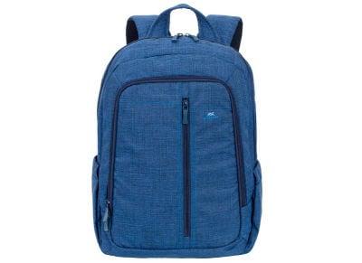"""Τσάντα Laptop Πλάτης 15.6"""" Rivacase 7560 Canvas Backpack Μπλε"""