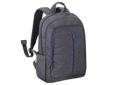 """Τσάντα Laptop Πλάτης 15.6"""" Rivacase 7560 Canvas Backpack Γκρι"""
