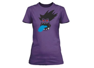 T-Shirt Jinx LOL Mundo Goes Where He Pleases Μωβ - L gaming   gaming cool stuff