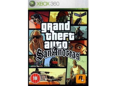 Grand Theft Auto San Andreas - Xbox 360 Game gaming   παιχνίδια ανά κονσόλα   xbox 360