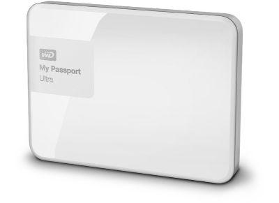 """Εξ. σκληρός δίσκος WD My Passport Ultra 1ΤΒ 2.5"""" USB 3.0 Λευκό"""