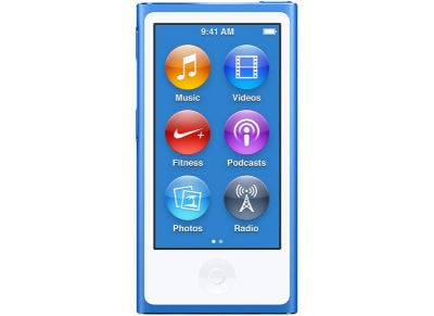Apple iPod Nano 16GB MKN02QB/A Μπλε