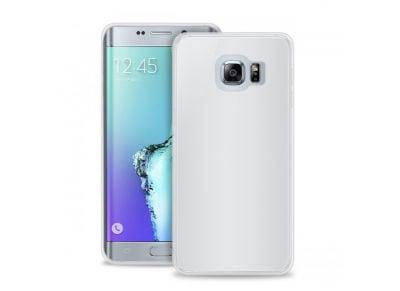 Θήκη Samsung Galaxy S6 Edge Plus + Μεμβράνη οθόνης - Puro Slim 0.3 Cover Διαφανές