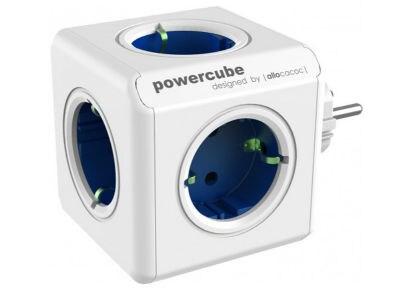 Powercube Original - Πολύμπριζο - Λευκό-Μπλε