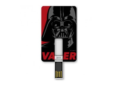 USB Card Stick Tribe Darth Vader 8GB 2.0 Μαύρο