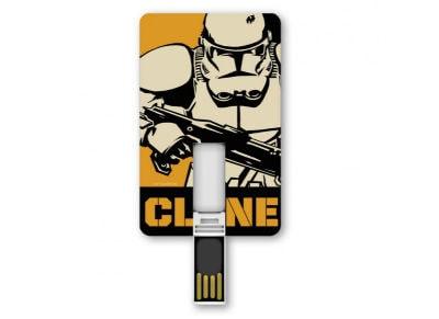 USB Card Stick Tribe Stormtrooper 8GB 2.0 Λευκό