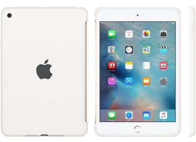 Apple Silicone Case - Θήκη iPad mini 4 White (MKLL2ZM/A)
