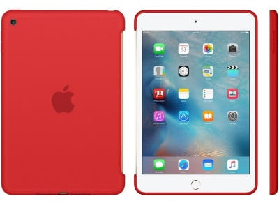 Apple Silicone Case - Θήκη iPad mini 4 Red (MKLN2ZM/A)