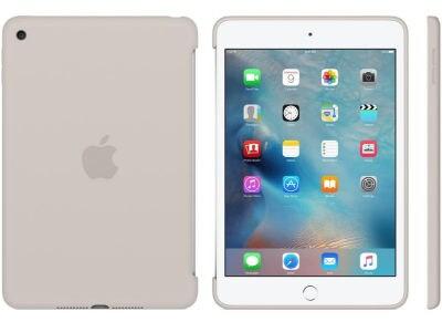 Apple Silicone Case - Θήκη iPad mini 4 Stone (MKLP2ZM/A)