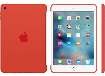 Apple Silicone Case - Θήκη iPad mini 4 Orange (MLD42ZM/A)