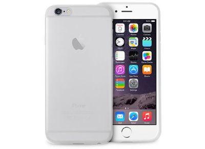 Θήκη iPhone 6 & Μεμβράνη οθόνης - Puro UltraSlim 0.3 Cover SLIPC64703TR Διαφανές