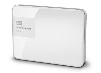 """Εξ. σκληρός δίσκος WD My Passport Ultra 2ΤΒ 2.5"""" USB 3.0 Λευκό"""