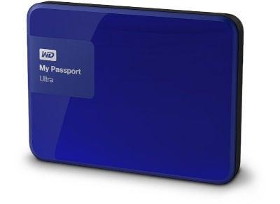 """Εξ. σκληρός δίσκος WD My Passport Ultra 3ΤΒ 2.5"""" USB 3.0 Μπλε"""